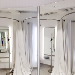 changing room from luxury fabric